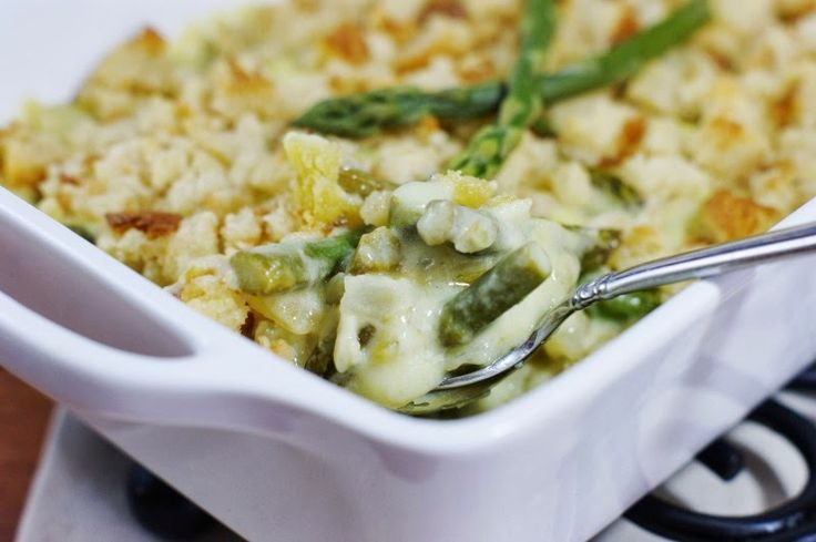 The Kitchen is My Playground: Fresh Asparagus & Hollandaise Casserole {with Concord Foods Hollandaise Sauce Mix}