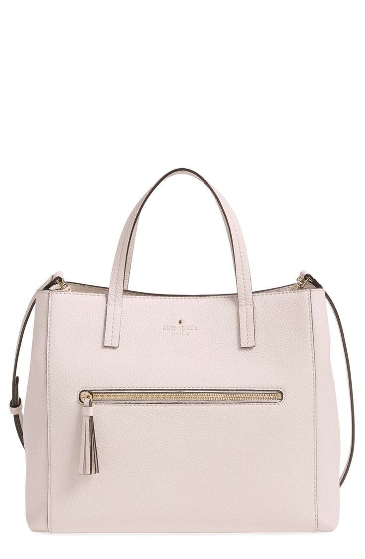 Head over heels for this classic Kate Spade satchel in luxurious pebbled leather. It's gold hardware and cosmopolitan style adds a chic and sophisticated touch to everyday. This Nordstrom Anniversary Sale beauty is definitely at the top of my wish list.