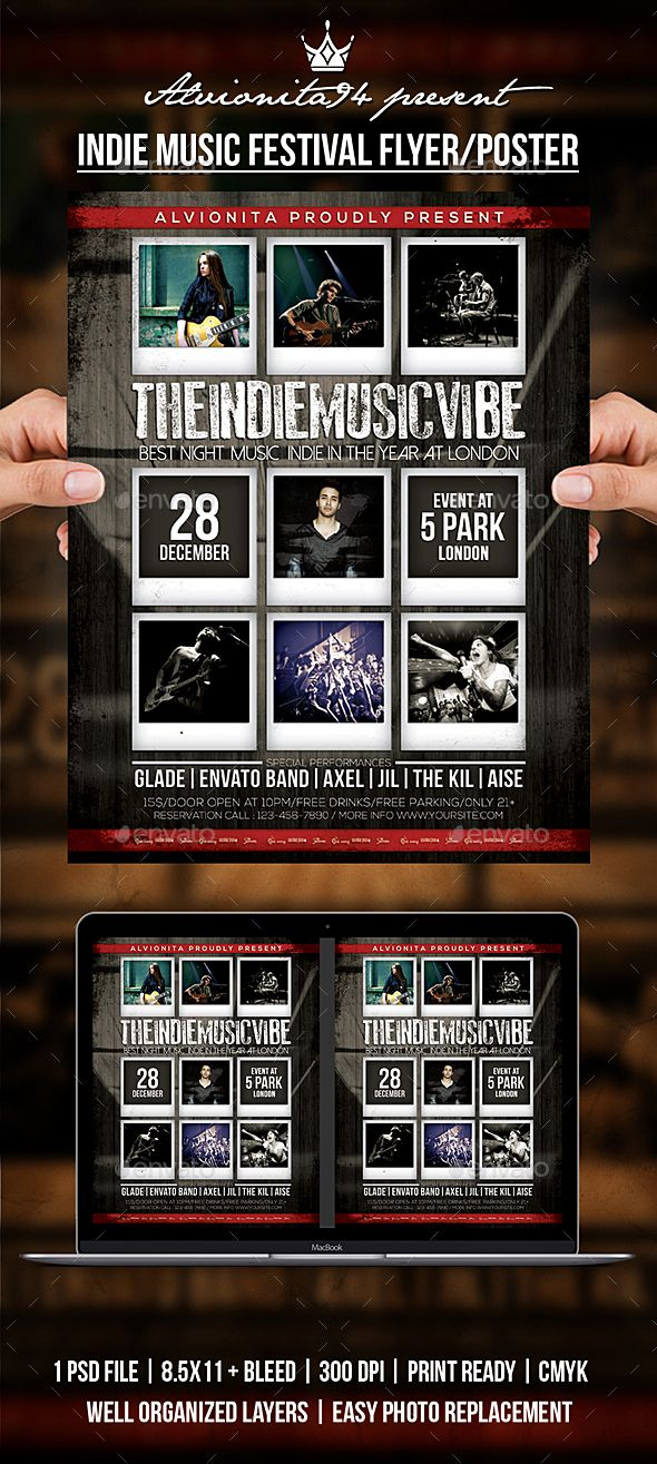 Indie Music Festival Flyer / Poster