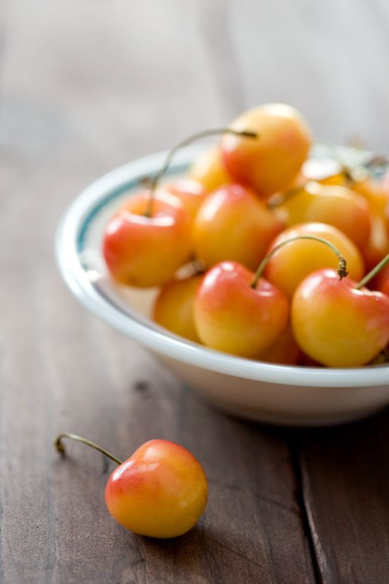 Rainier Cherries ~ one of the best things on the planet!!!