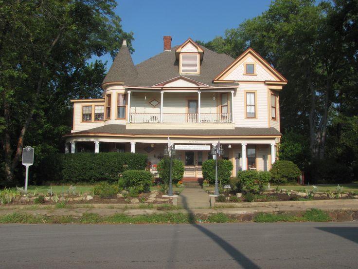 Ima Hogg's home, North Line Street at West Kilpatrick Street - Mineola, Texas {photo by Crystal Arcand}