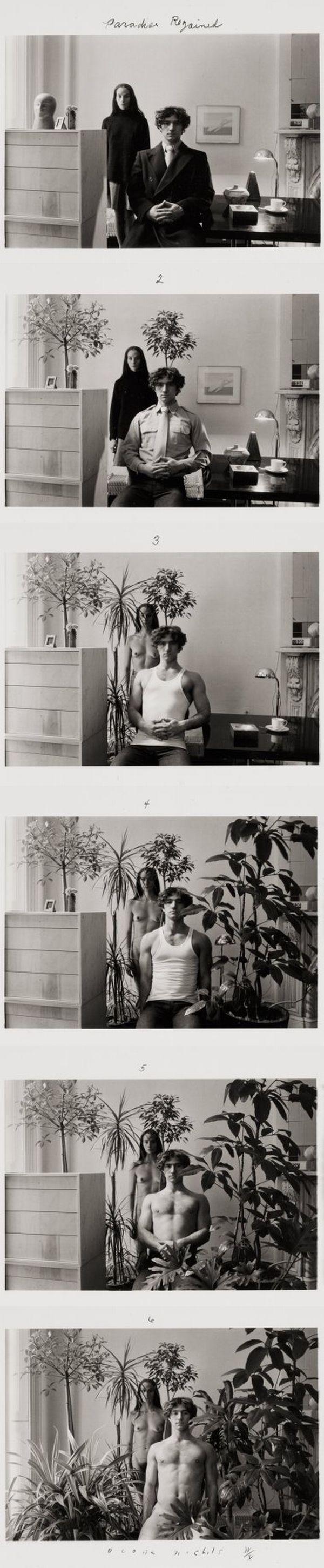 Les séquences photographiques de Duane Michals - La boite verte