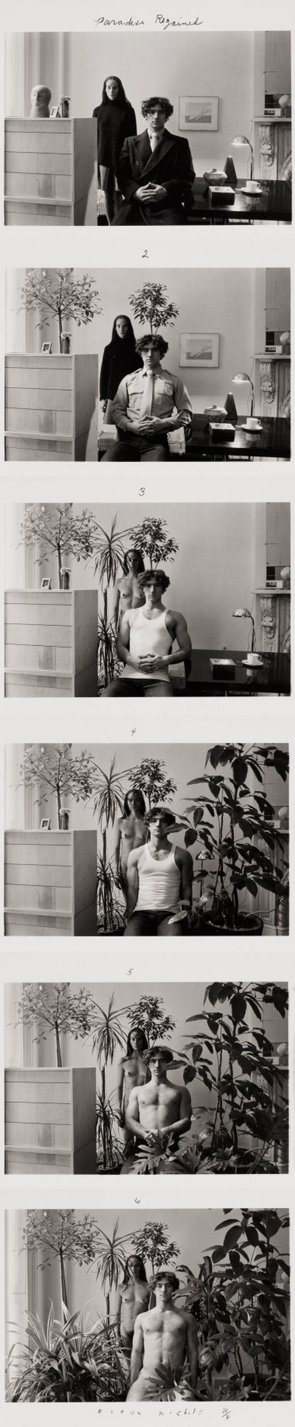 Les séquences photographiques de Duane Michals sequence photographie duane mickeals 07