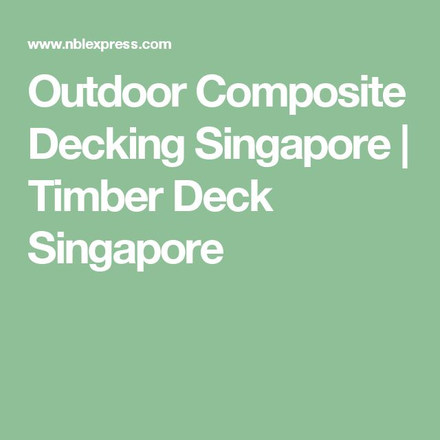 1000 Ideas About Composite Decking On Pinterest
