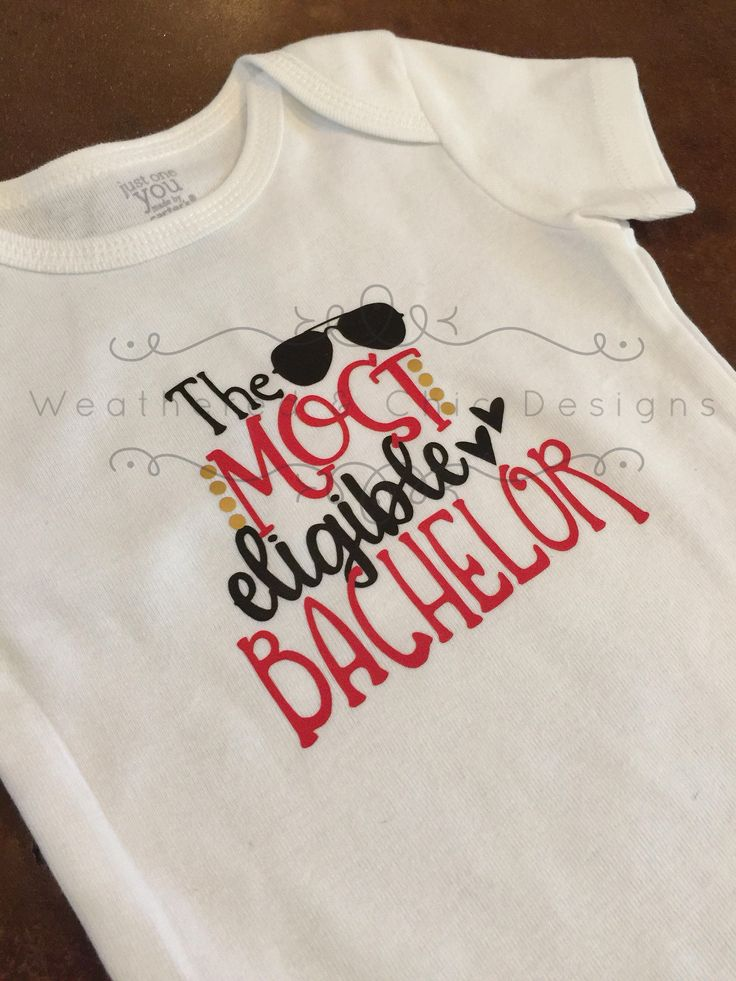 Most Eligible Bachelor Onesie, Tee, Raglan, Boys' Valentines Day by MFamilyof5 on Etsy