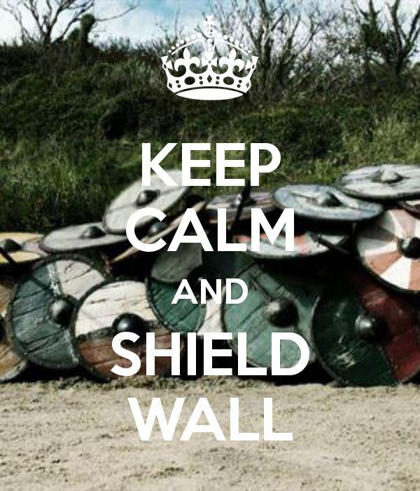 how to break a shield wall