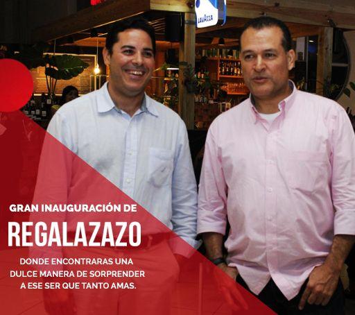 Este sábado 11 de julio se realizó con gran éxito la inauguración de la tienda virtual REGALAZAZO, donde sus propietarios pusieron a disposición de toda la Republica Dominicana una nueva manera de celebrar momentos únicos y especiales. REPUBLICA DOMINICANA Telefono: 8093751682 Email : ventas@regalazazo.com.do Whatsapp : 8293776644 http://www.diariolibre.com/…/regalazazo-inaugura-tienda-vir… #REGALAZAZO #Diariolibre #ESTILOS #Santodomingo #Republicadominicana #Mujer 