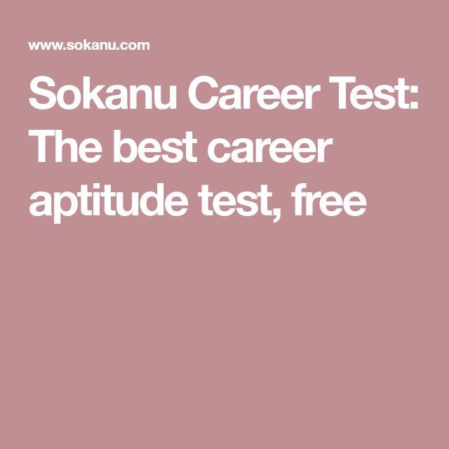 Sokanu Career Test: The best career aptitude test, free