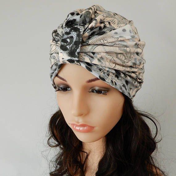 Summer turban hat women Viscose jersey turban hat Chemo hat
