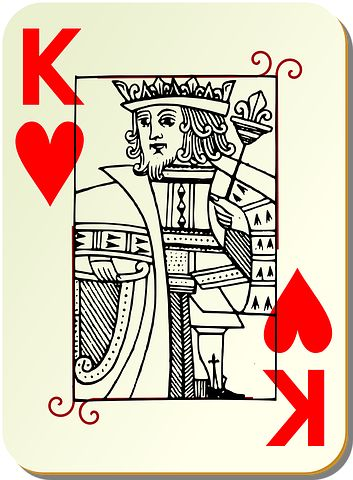 Playing Card, King, Card Deck, Deck