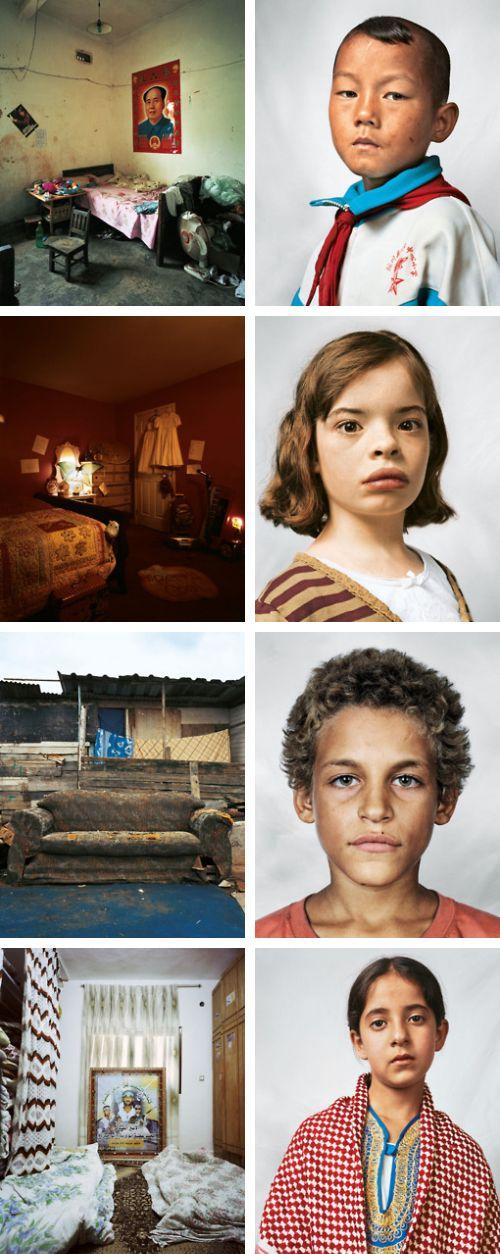 Where children sleep ~ James Mollison http://www.jamesmollison.com/wherechildrensleep.php?project_id=6