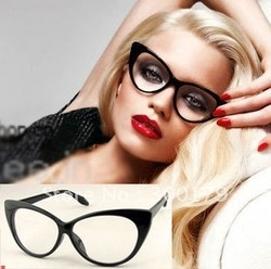 Shipping Fashion Beyonce Giselle Cat Eye style women shade eyeglasses frame eyewer glasses spectacle frame sunglasses