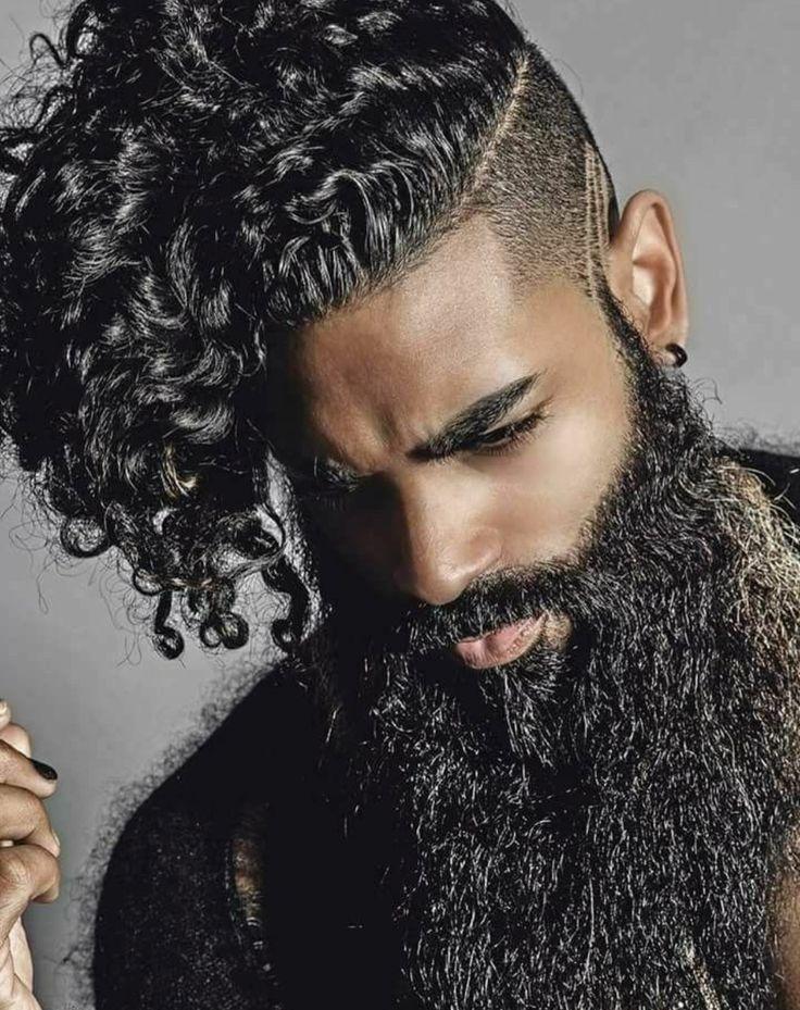 77 best black men beard styles amp mustache styles for 2019 - 736×929