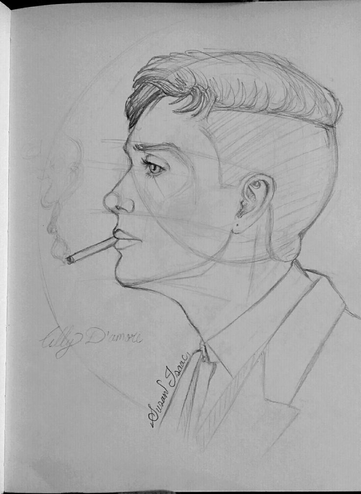 Cillian Murphy as Tommy in the peaky blinders by Susan Isaac