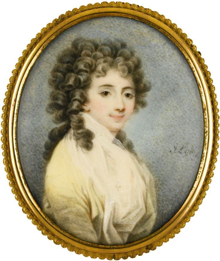 Józef Łęski (1760-1825) Zofia Potocka1790-е miniature  locationUnknown www.sothebys.com