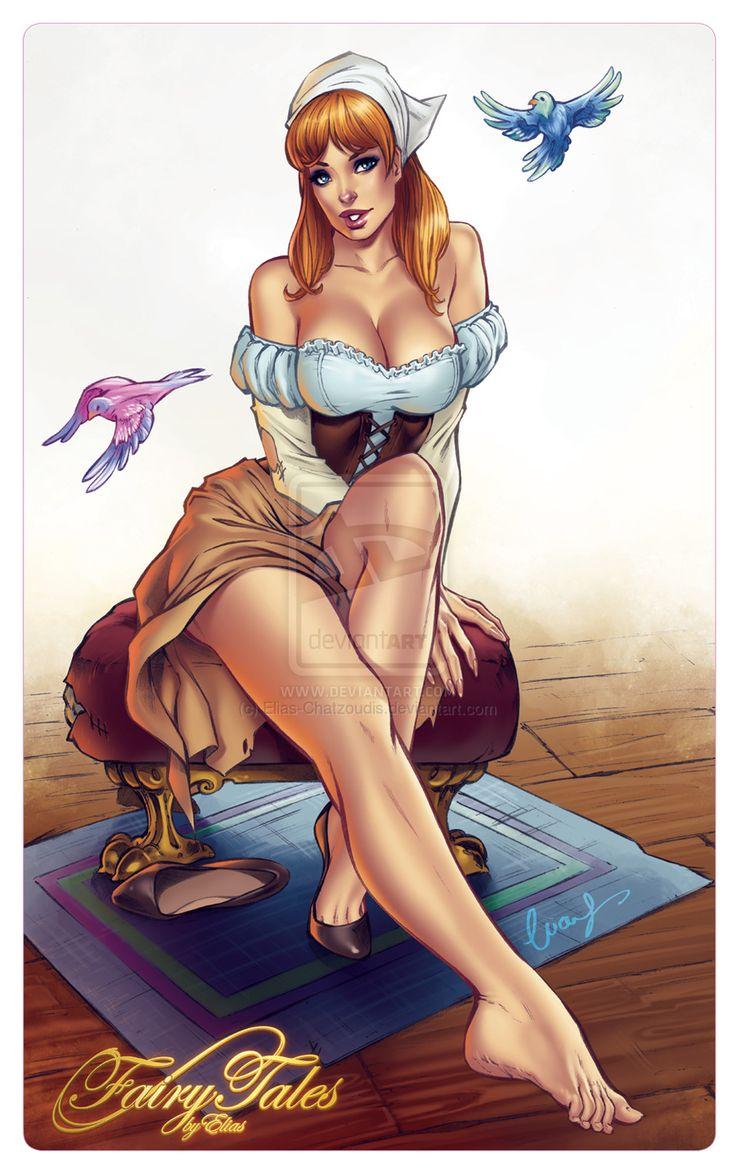 Cinderella by Elias-Chatzoudis on DeviantArt