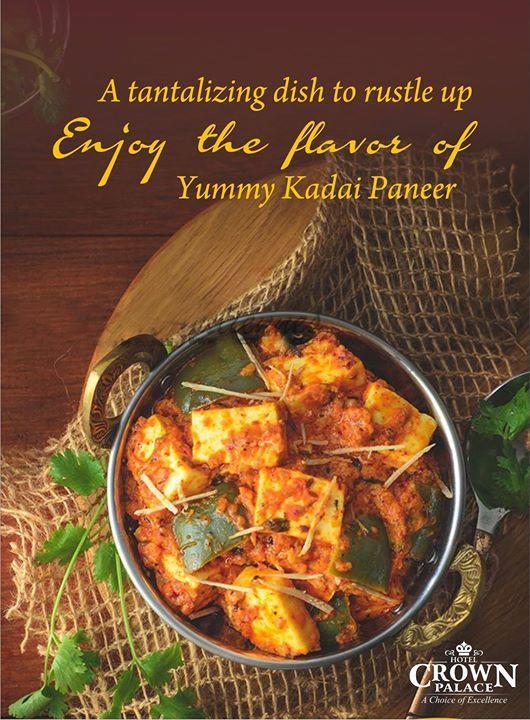 Atantalizing dish to rustle up Enjoy the flavar of  Tummy Kadai Paneer - http://ift.tt/1HQJd81