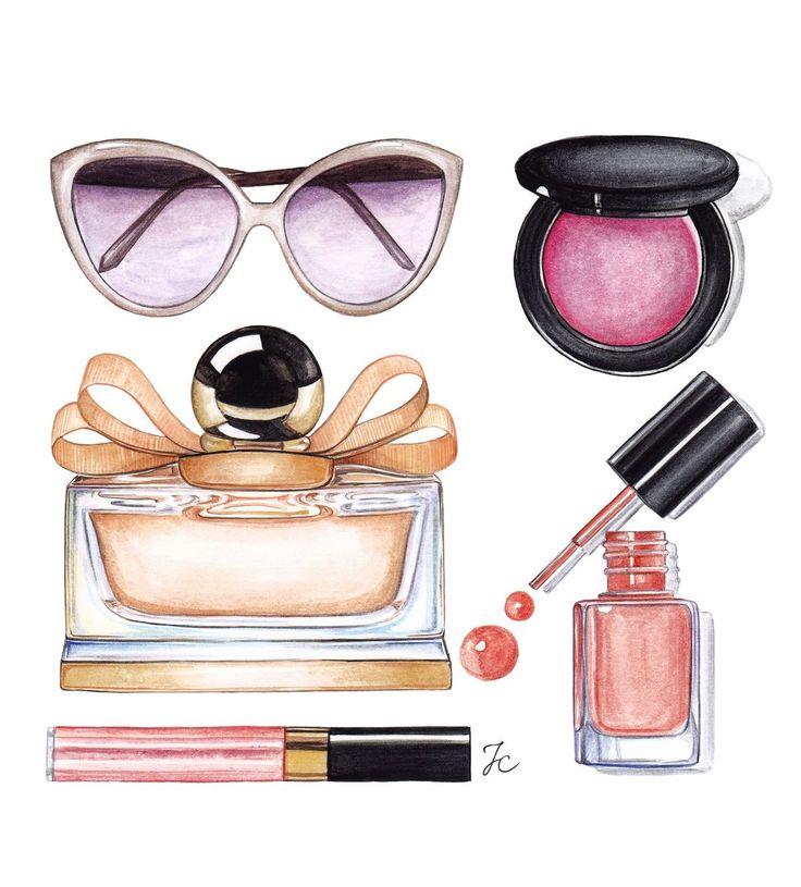 22 best Illustrations of make up images on Pinterest ...