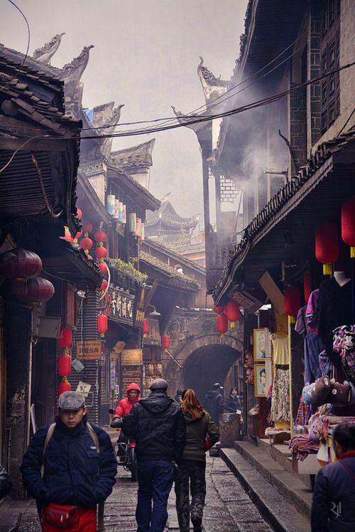 Fenghuang, Hunan, China Fenghuang street by Nujabes