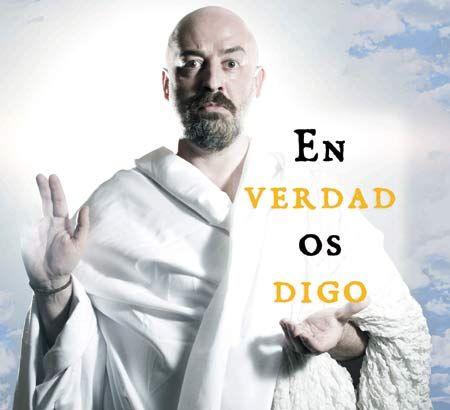 Goyo Jiménez presenta en Santiago: En verdad os digo. Ocio en Galicia | Ocio en Santiago. Agenda actividades. Cine, conciertos, espectaculos
