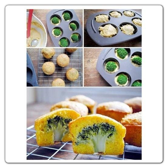 Muffin salati con sorpresa