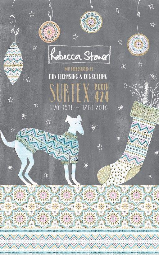 Chalkboard Christmas Surtex Flyer_Rebecca Stoner