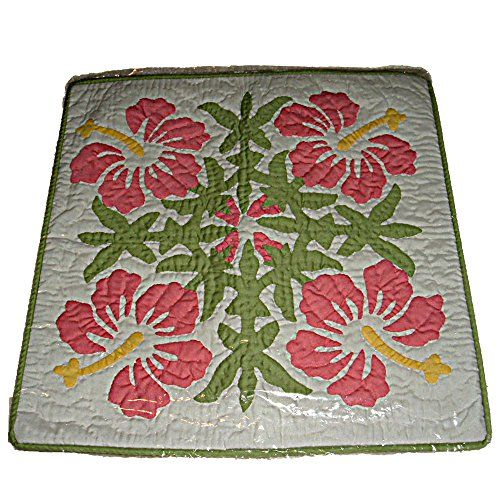 Quilted Decorative Pillow Covers : 16 best Hawaiian Quilted Pillow Covers images on Pinterest Quilted pillow, Hawaiian quilts and ...