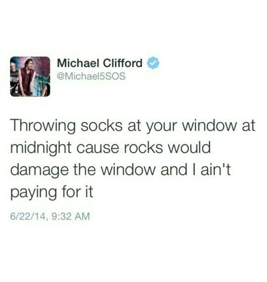 Why couldn't these be the lyrics for WRAPPED AROUND YOUR FINGER???!!!!!!!!???? This is why I love MICHEAL FREAKING CLIFFORD!!!!!