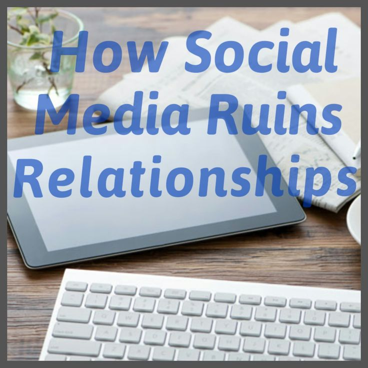 Great blog Is it just me or does social media ruin relationships? Like people legit stop being friends over social media posts or even break up with their significant other.