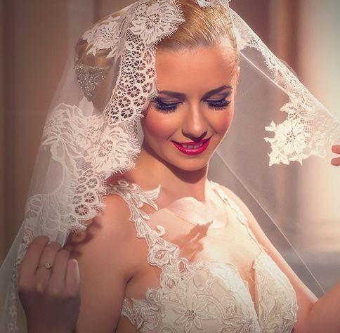 Wedding dress by Magda Gealapu