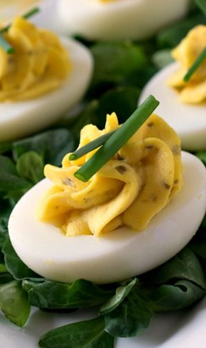 Delectable Deviled Eggs -=- For an Easter Dinner or For Everyday YUMMY !! <3