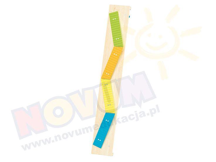 NOVUM - Kolorowe ławeczki - ławeczka sensoryczna  #novum #novumedukacja #kids #forkids