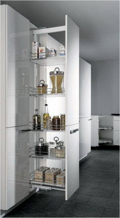ALNO pull-out tall larder unit