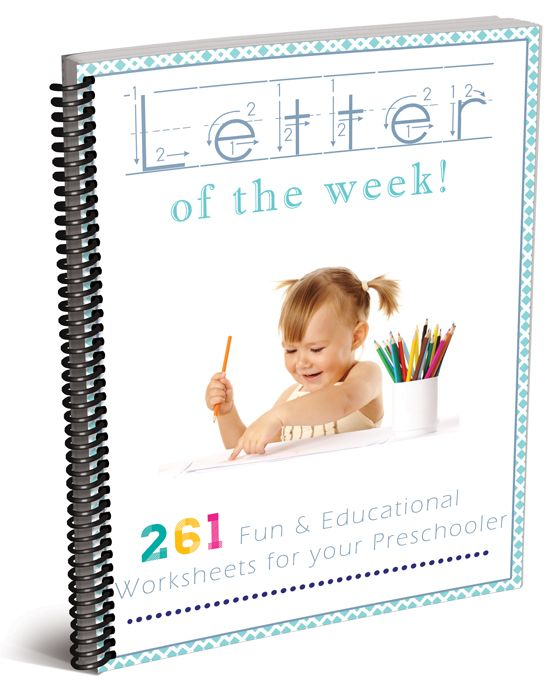 This alphabet series is an awesome preschool curriculum! Over 250 pages that allow your preschooler to learn, explore, and grow their knowledge of every letter of the alphabet!