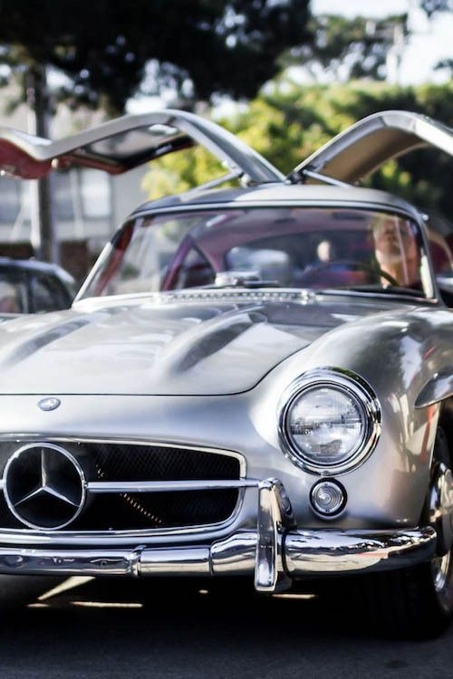 Don't you just enjoy a great classic Mercedes? -Cordillera, Colorado