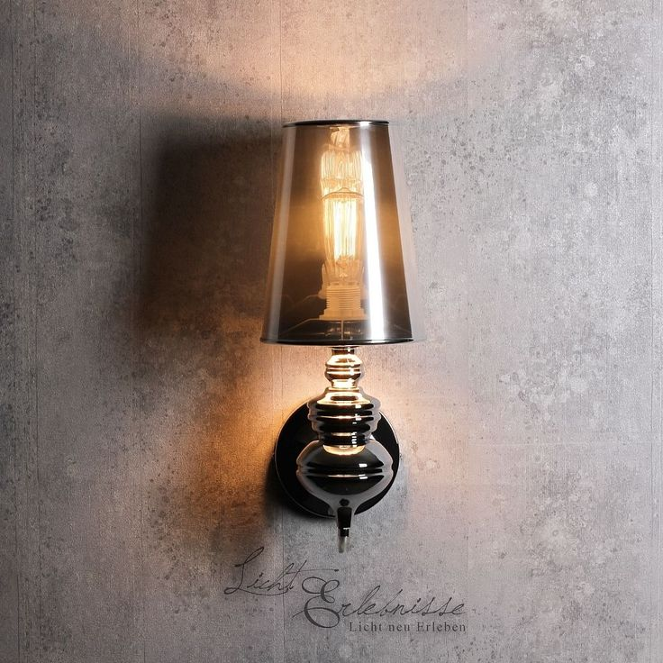 Design Wandleuchte In Silber Innen Wandlampe E27 Fr Wohnzimmer Schlafzimmer