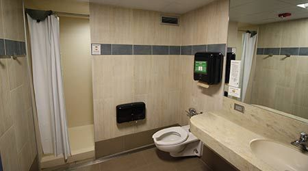 Residence Hall Restroom Renovations Eye ADA Compliance, Design Refresh - Facilities Management Plumbing & Restrooms Feature