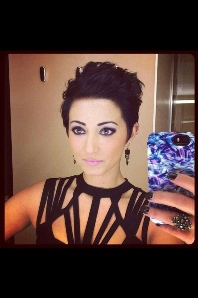 hair styles for thin hair and 25 best ideas about pixie faux hawk on funky 8319