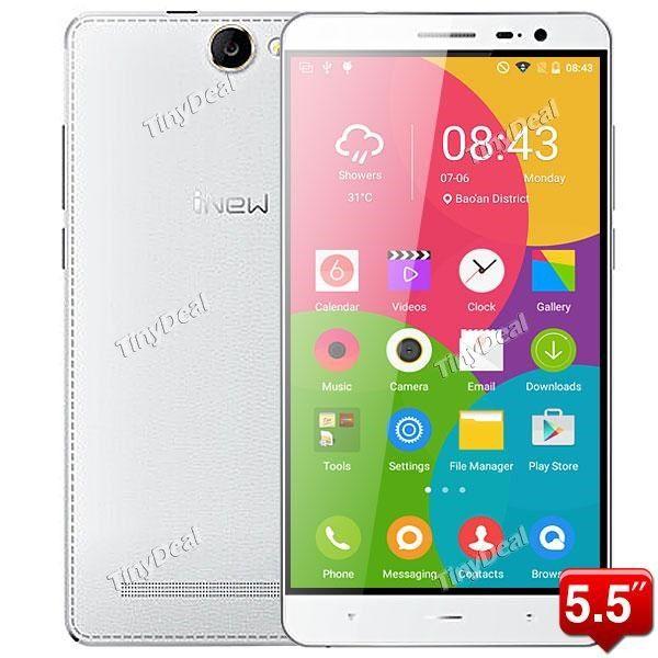 "INEW L4 5.5\"" HD MTK6735P Quad-core Android 5.1 4G LTE Phone 13MP CAM 1GB RAM 16GB ROM Gorilla Glass 3 P07-IWL4"