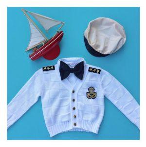 captain costume for kids