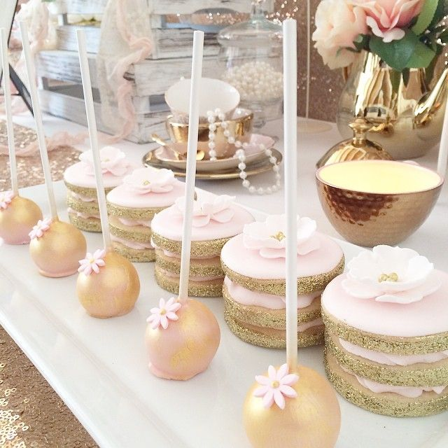 Biscuit stacks for a pink and gold afternoon tea hosted by @sweetheartpartyextras #theicedbiscuit #icedbiscuits #biscuit #biscuits #cookie #cookies #sugarcookies #desserttable #decoratedcookies #royalicing #glitter #gold #melbourne #pink #afternoontea #baked #yarravalley