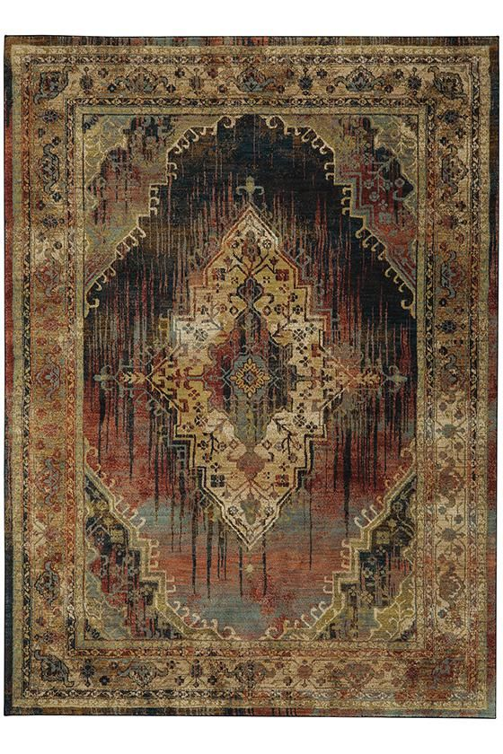 Malcolm Area Rug Traditional Rugs Machine Woven Synthetic Homedecorators