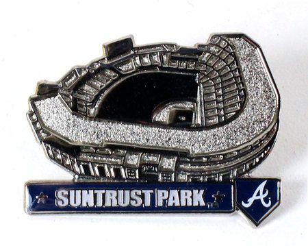 Atlanta Braves Suntrust Park Pin