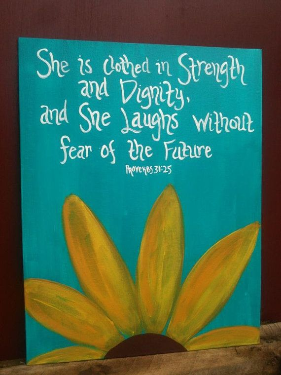 Decorative quote on canvas - any quote or Bible Verse - mission trip fundraiser via Etsy