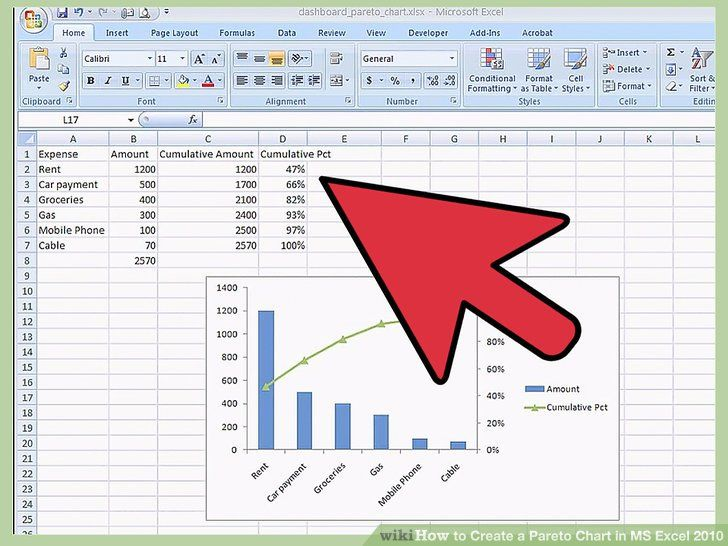 72 Cool Stock Of How To Do Pareto Analysis Excel Templates