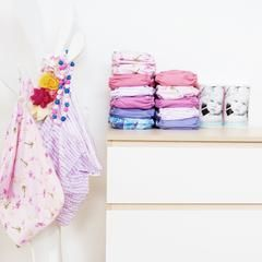 Girls Designer Modern Cloth Nappy stash by EcoNaps   Reusable Modern Cloth Diapers, hand designed in Byron Bay, Australia.