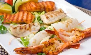 Groupon - Cena con 1 kg di frittura o grigliata di pesce e vino (sconto fino a 77%) a San Benigno Canavese. Prezzo Groupon: €29,90