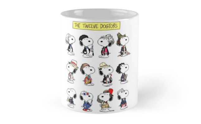 Snoopy Doctors Collage Mugs