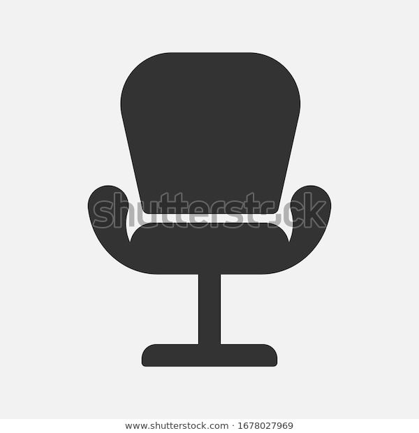 Find Office Chair Icon Vector Template Flat Stock Images In Hd And Millions Of Other Royalty Free Stock Photos Illustrations And Vecto In 2020 Office Chair Chair Icon