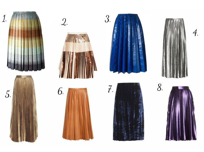 #Pleated #skirts first became #popular in the 20's but then were forgotten for some time. Now they've appeared almost in all #fashion houses again. Some continue to make them in a #style of the 20's (for example #Gucci), but some have decided to change the concept absolutely and make them rather in futurism. But #plisse itself stays unchangeable.